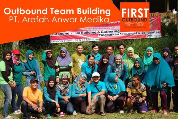 Outbound Team Building, Outbound di Kaliandra, PT Arafah Anwar Medika
