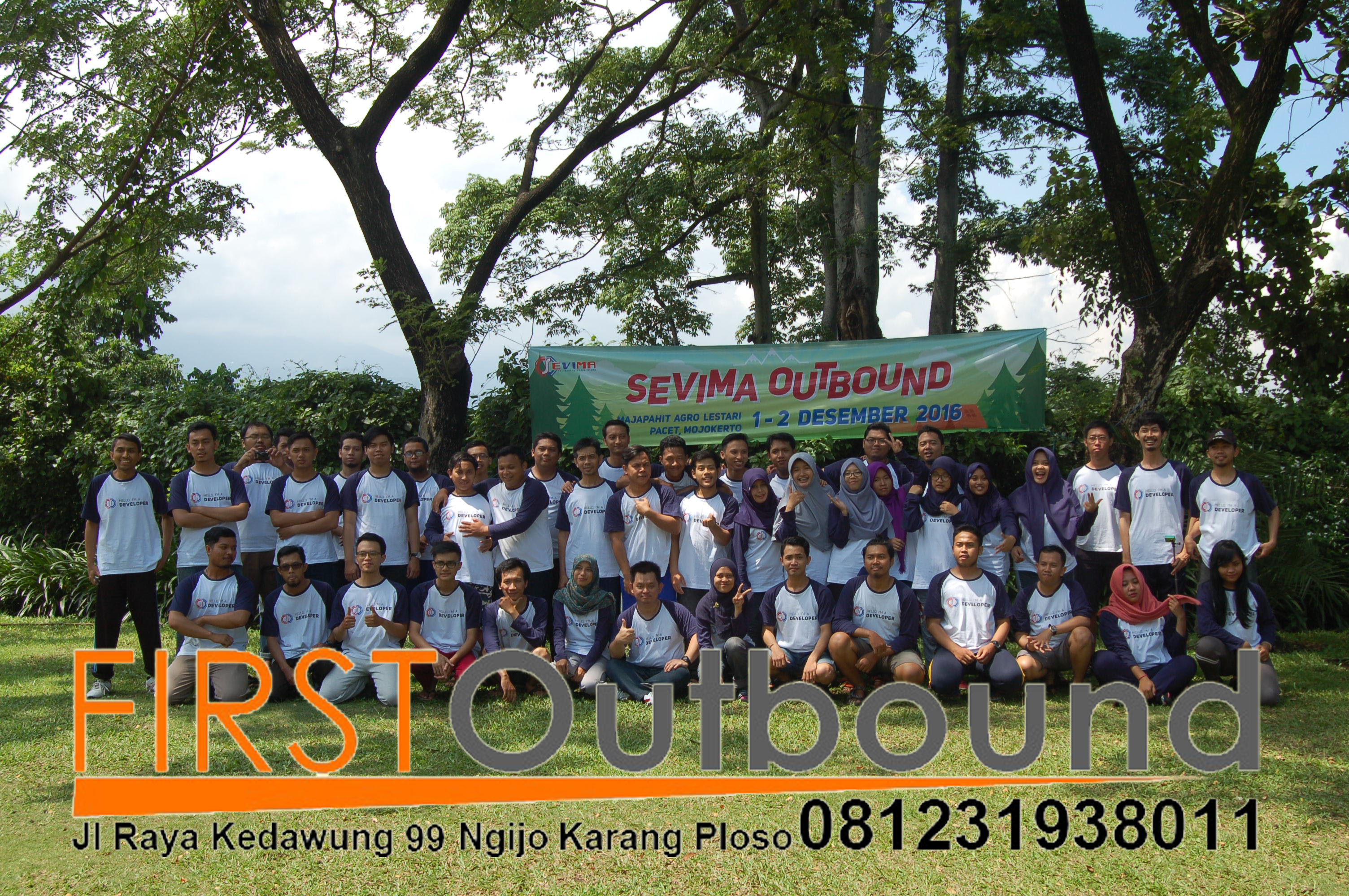 Outbound Team Building,  Bersama PT Sevima Surabaya